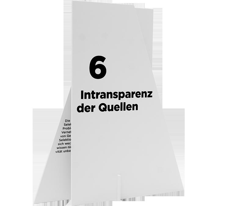 06 Intransparenz der Quellen